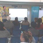 Juan Sacri impartiendo un taller de ahorro y eficiencia energética en Valencia